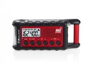 Midland - ER310 Emergency Crank Weather Radio